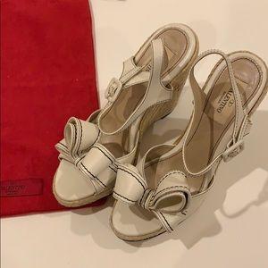 Valentino leather espadrilles